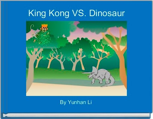 King Kong VS. Dinosaur