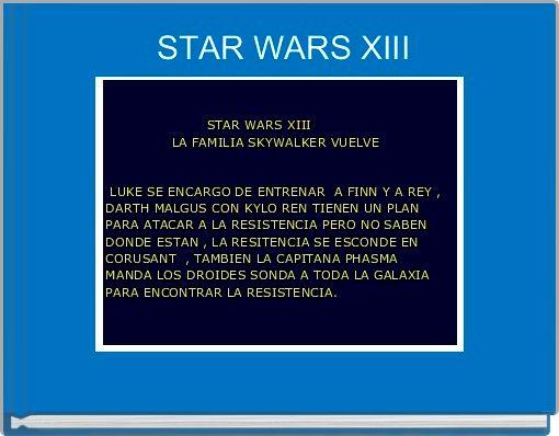 STAR WARS XIII