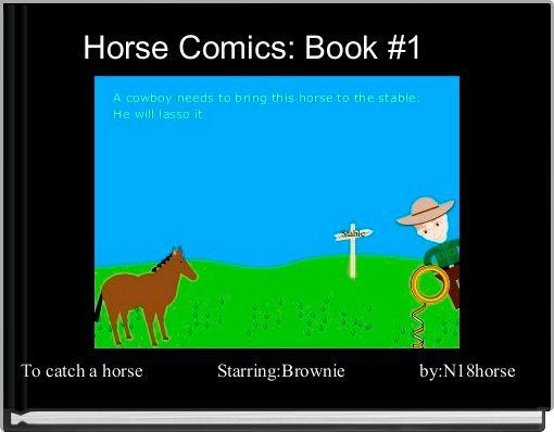 Horse Comics: Book #1