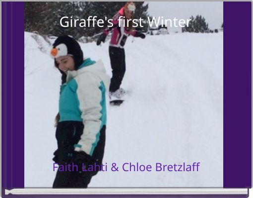 Giraffe's first Winter