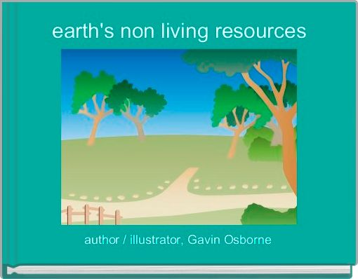earth's non living resources