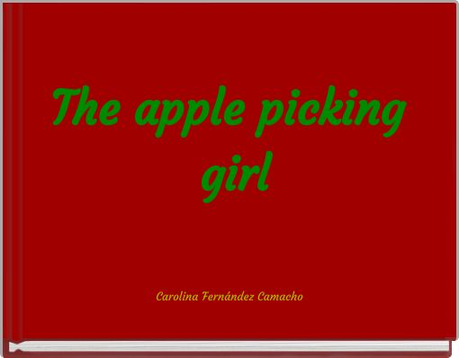 The apple picking girl