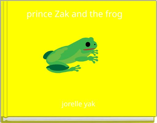 prince Zak and the frog
