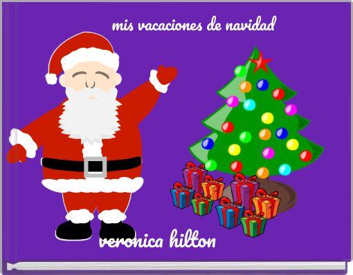 mis vacaciones de navidad