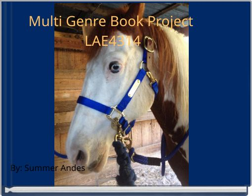 Multi Genre Book Project LAE4314