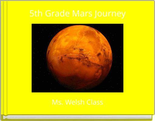 5th Grade Mars Journey