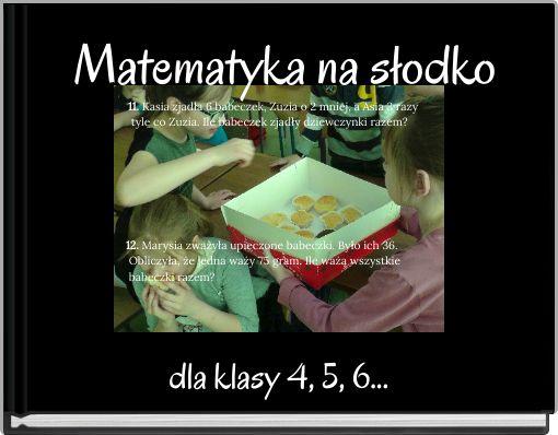 Matematyka na słodko