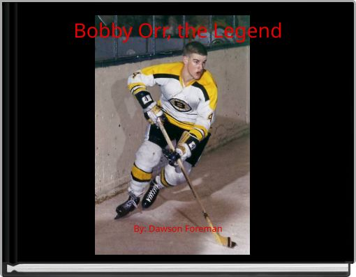 Bobby Orr, the Legend