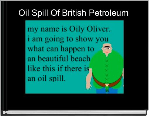 Oil Spill Of British Petroleum