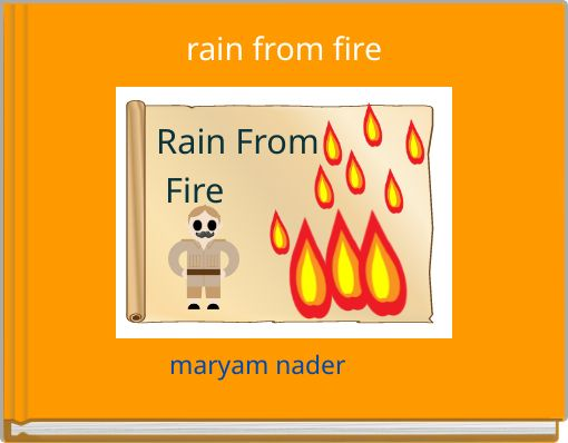 rain from fire