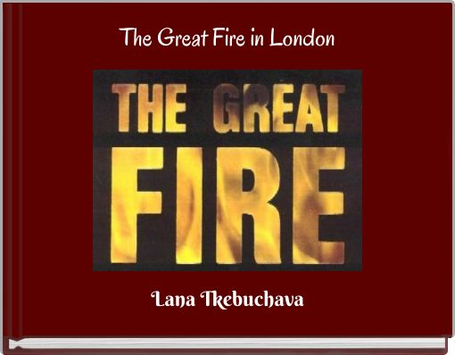 The Great Fire in London