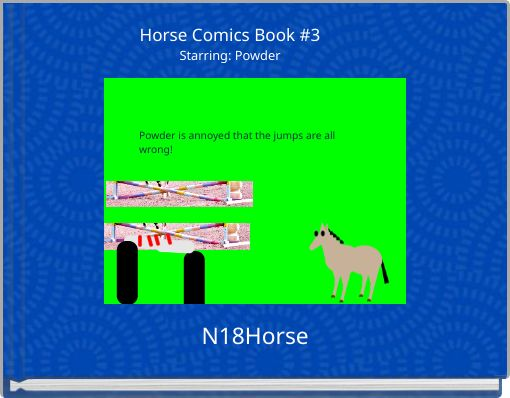 Horse Comics Book #3Starring: Powder