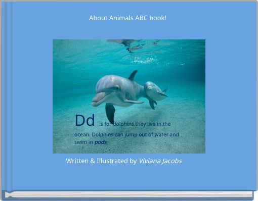 About Animals ABC book!