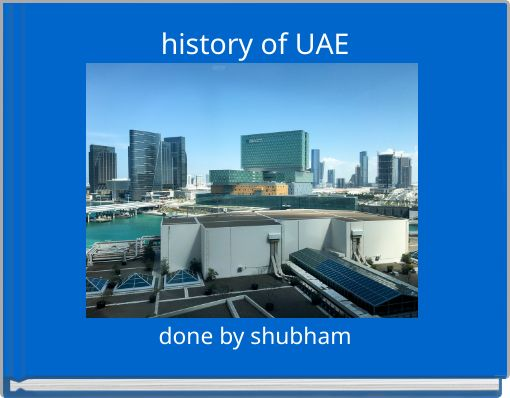 history of UAE