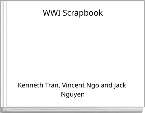WWI Scrapbook