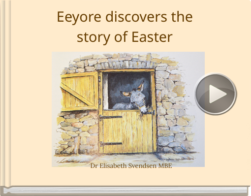 Book titled 'Eeyore discovers the story of Easter'