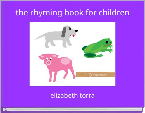 the rhyming book for children