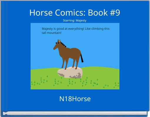 Horse Comics: Book #9Starring: Majesty