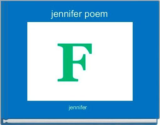 jennifer poem