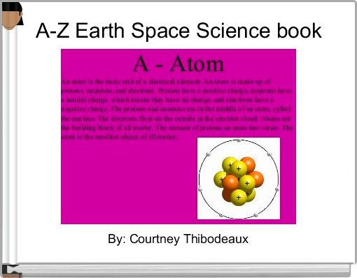 A-Z Earth Space Science book