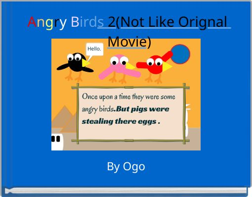 Angry Birds 2(Not Like Orignal Movie)