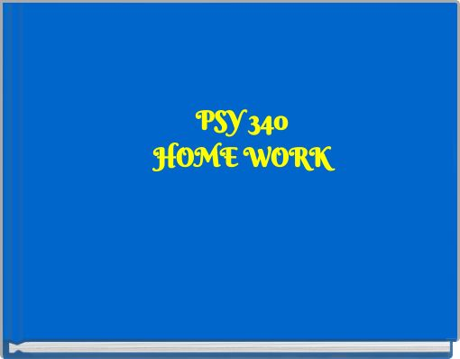 psy 340 week 2 dq 1 2 We offer mkt 421 week 1, week 2, week 3, week 4, week 5 individual and team assignments and here also find mkt 421 dq and entire course study materials.