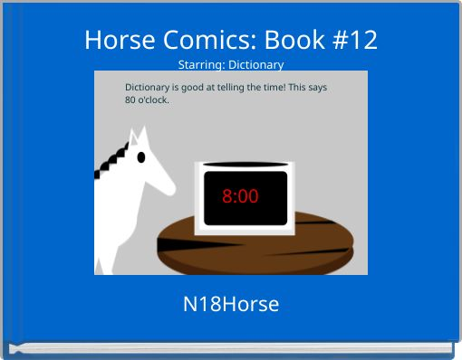 Horse Comics: Book #12Starring: Dictionary