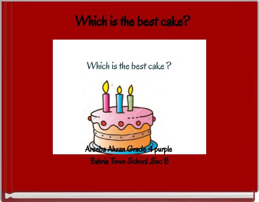 Which is the best cake?