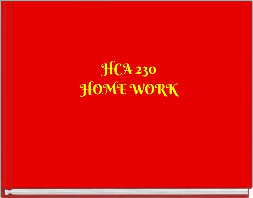 hca 230 week 9 final project Final project financial powerpoint presentation hca 270  acc 230 week 9 final project evaluating financial health to download this course, visit this link or.