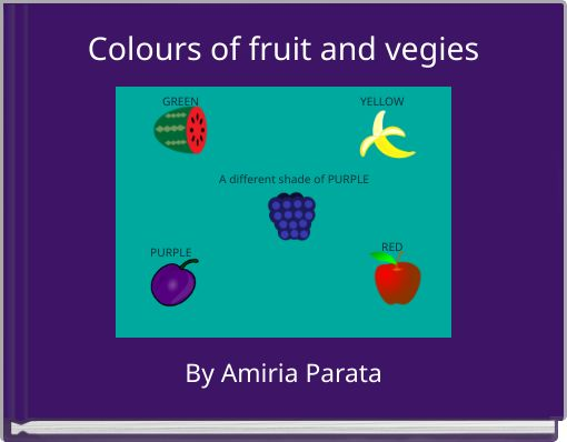Colours of fruit and vegies