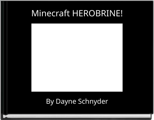 Minecraft HEROBRINE!