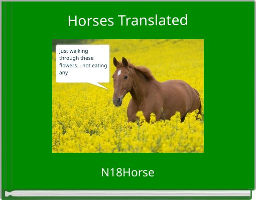 Horses Translated
