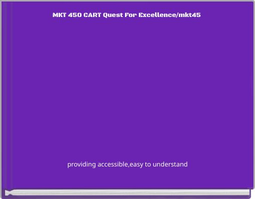 MKT 450 CART Quest For Excellence/mkt45