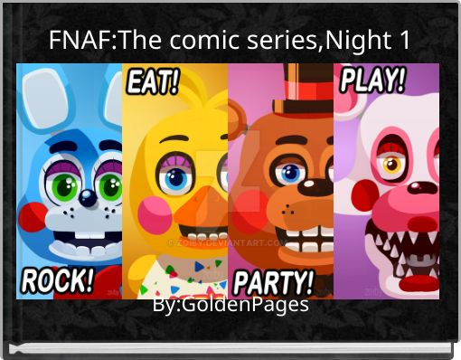 FNAF:The comic series,Night 1