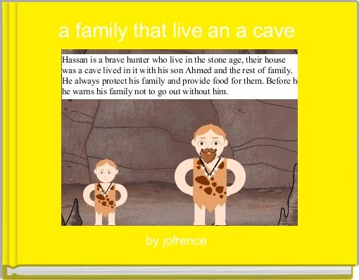 a family that live an a cave