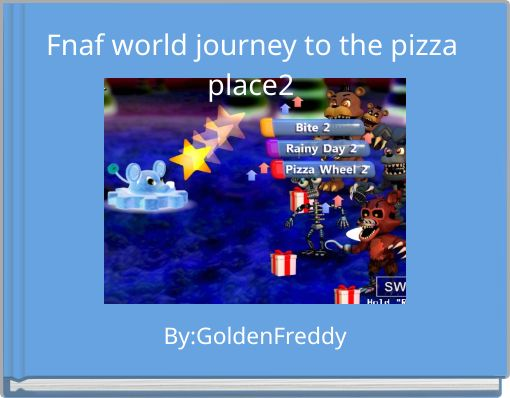 Fnaf world journey to the pizza place2