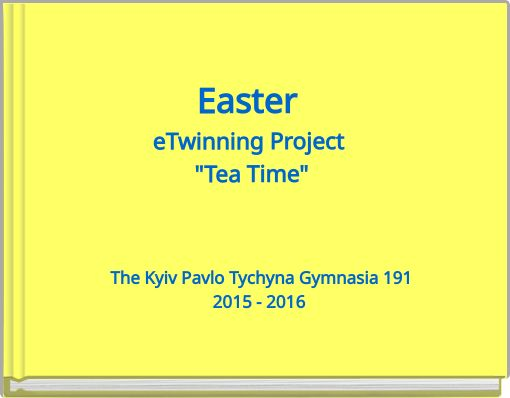 Easter eTwinning Project