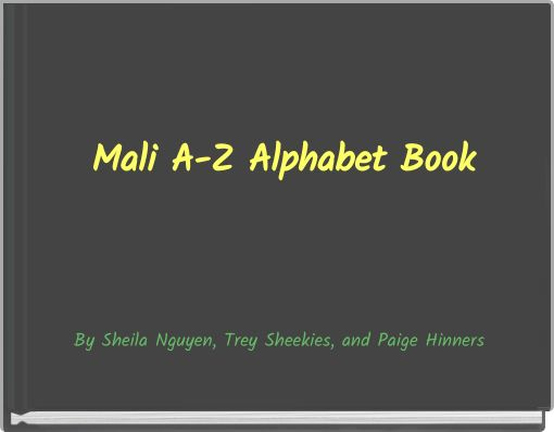 Mali A-Z Alphabet Book
