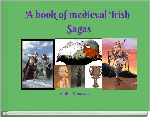 A book of medieval Irish Sagas