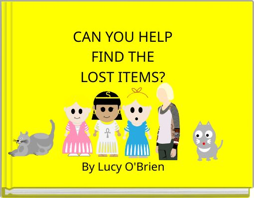 CAN YOU HELP FIND THE LOST ITEMS?