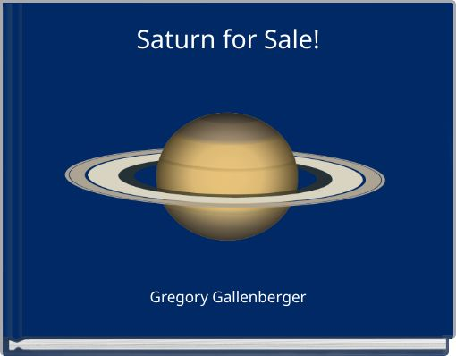 Saturn for Sale!