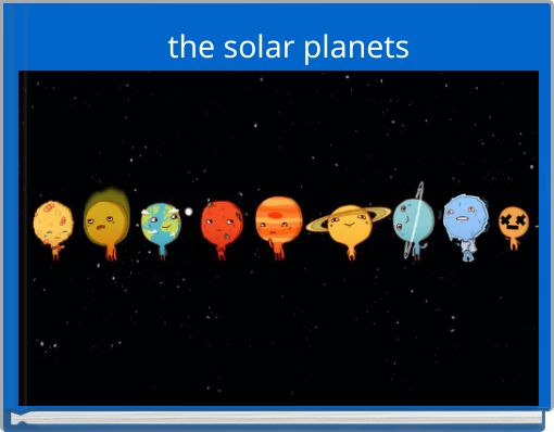 the solar planets