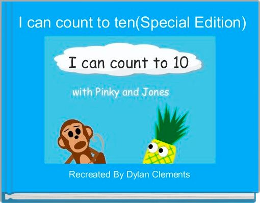 I can count to ten(Special Edition)