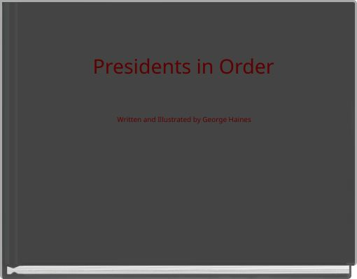 Presidents in Order