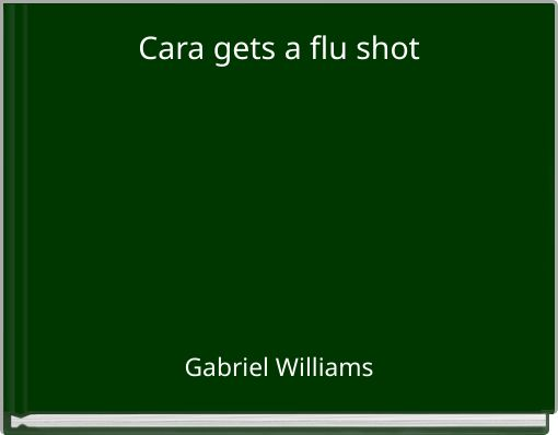 Cara gets a flu shot