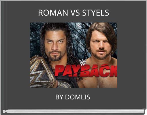 ROMAN VS STYELS