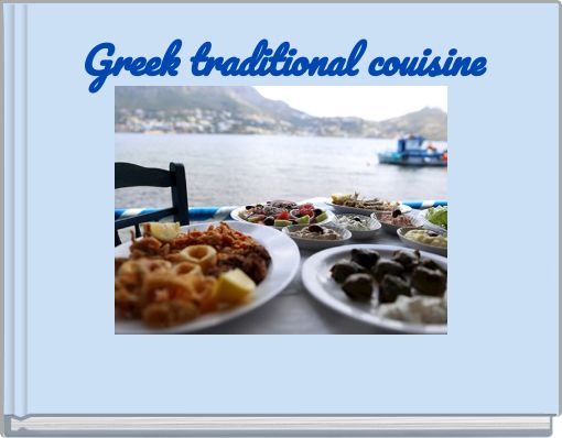 Greek traditional couisine