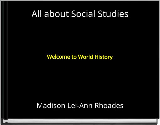 All about Social Studies
