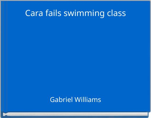 Cara fails swimming class