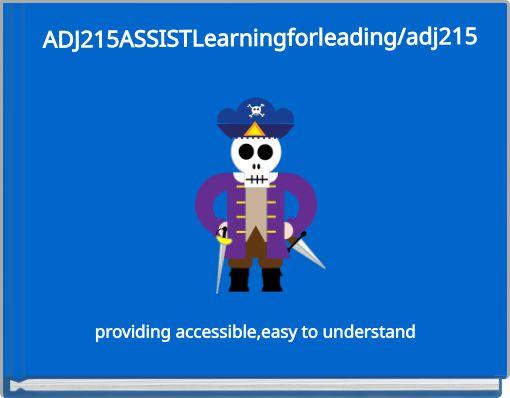 ADJ215ASSISTLearningforleading/adj215
